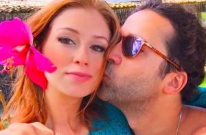 Marina Ruy Barbosa ganha beijo do namorado e posta foto em rede social
