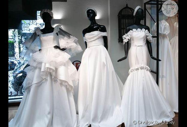 Vestidos de noiva da coleção assinada por Lucas Altieri
