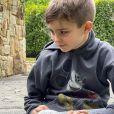 Filho de Ana Hickmann aparece com frequência nas redes da mãe com seus pets