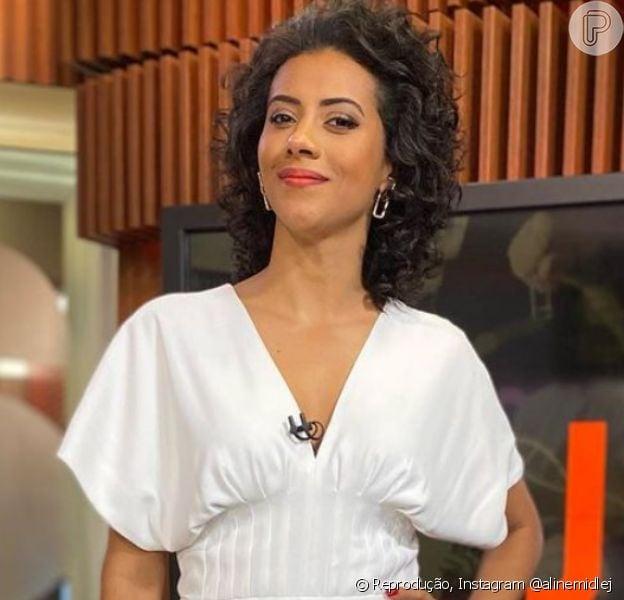 Aline Midlej estreia na bancada do 'Jornal Nacional' no próximo dia 18 de setembro de 2021