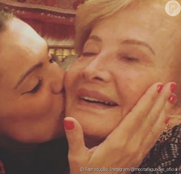 Glória Menezes se muda para o Rio de Janeiro após período em São Paulo, contou sua nora Mocita Fagundes