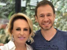 Ana Maria Braga elogia Tiago Leifert no 'Mais Você': 'Cara maravilhoso, um colega excepcional'