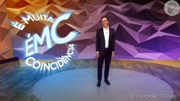 Tadeu Schmidt é o nome atualmente estudado pela TV Globo para assumir o 'BBB', como apurou o PurePeople com exclusividade