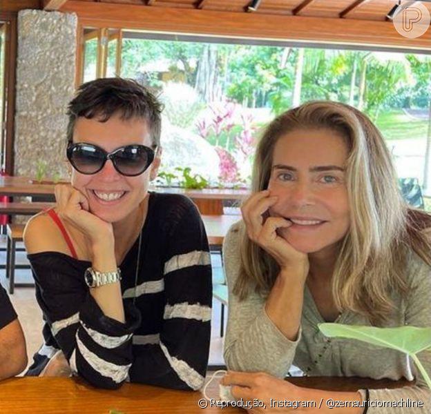Maitê Proença sempre foi discreta quanto a romances e afirmou estar solteira em fevereiro, antes de se envolver com Adriana Calcanhoto