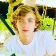 Filho mais velho de Angélica e Luciano Huck, Joaquim chama atenção por ter a voz parecida com a do pai