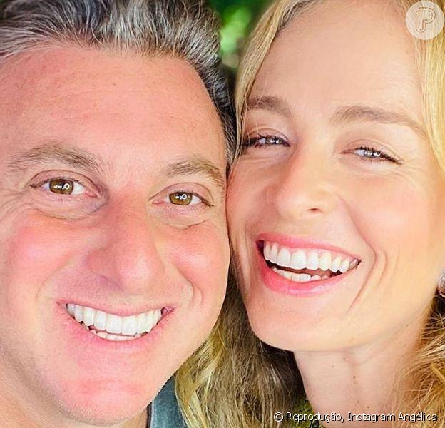 Angélica e Luciano Huck viraram assunto na TV ao aparecerem juntos na TV