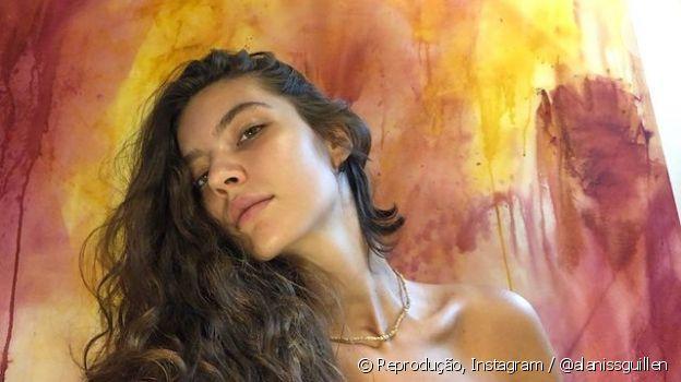 Alanis Guillen tem tomado sol sem biquíni para se preparar para viver Juma, protagonista de 'Pantanal'