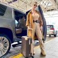 Andressa Suita é adepta de peças utilitárias para viajar