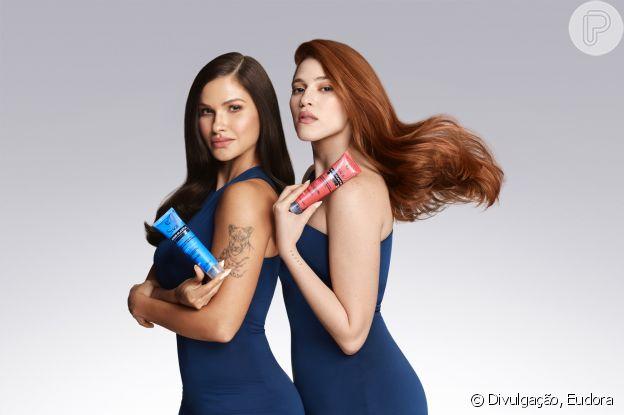 Andressa Suita e Ana Clara estrelam campanha de lançamento da Eudora Siáge