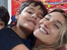 Luciano Szafir posta foto de Sasha com irmãos e web reage: 'Arte de fazer filho bonito'