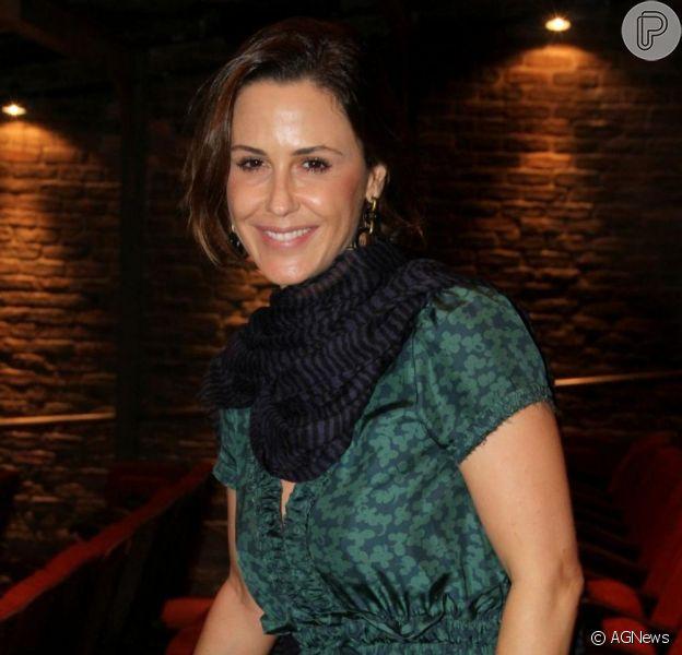 Guilhermina Guinle, de 38 anos, quer ter o filho de parto natural. A atriz, grávida de três meses, conversou com o Purepeople em 13 de março de 2013