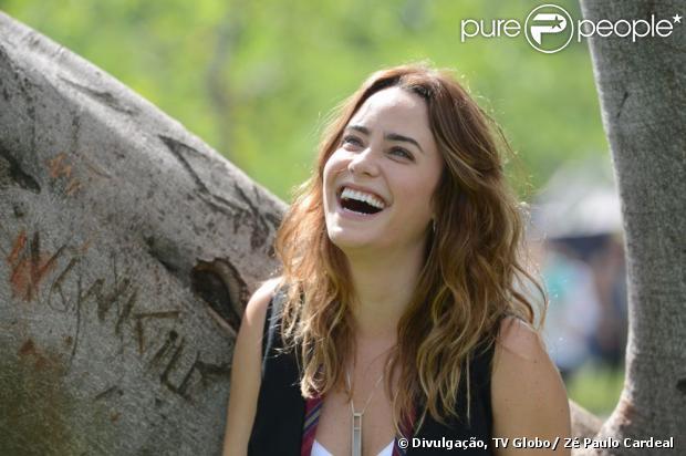 Malu (Fernanda Vasconcellos) em cena de 'Sangue Bom', próxima novela das sete da Globo