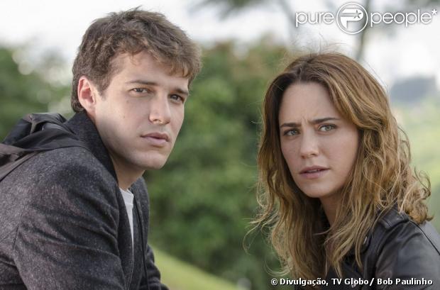 Jayme Matarazzo e Fernanda Vasconcellos são Maurício e Malu, em 'Sangue Bom', próxima novela das sete da Globo que estreia em abril de 2013