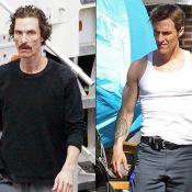 Matthew McConaughey recupera 13kg perdidos e aparece musculoso em set