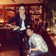 David Brazil publica foto dizendo estar apaixonado pela calça de Giovanna Antonelli