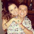 David Brazil publica foto ao lado da aniversariante, Giovanna Antonelli