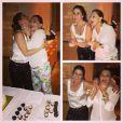 Giovanna Antonelli e a mãe, Suely Antonelli, comemoram o aniversário juntas