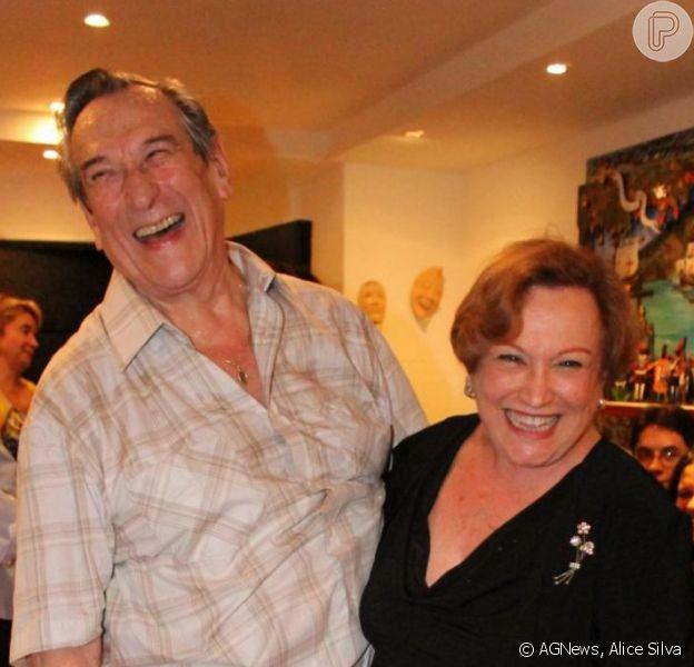 Paulo Goulart e Nicette Bruno falam à revista 'Contigo', que chega às bancas nesta semana, sobre o casamento de quase 60 anos