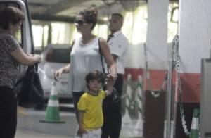Grávida e com os filhos, Vanessa Giácomo aparece pela 1ª vez após casamento