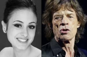 Mick Jagger vive romance com a bailarina Melanie Hamrick, 44 anos mais jovem
