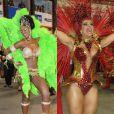 No Carnaval de 2015, ao lado de Cris Vianna, Viviane Araújo vai gravar cenas da novela 'Império' na Marquês de Sapucaí, no Rio
