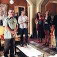 O diretor de núcleo Dennis Carvalho ensaia o elenco de 'Sangue Bom'