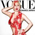 Em setembro de 2010, Lady Gaga foi capa da 'Vogue Hommes' e posou com uma roupa feita de carne, mais uma vez causando indignação dos ativistas vegetarianos