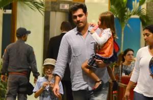 Thiago Lacerda diz que não consegue ser o pai que gostaria: 'Sinto muita culpa'