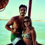 Thiago Rodrigues e a jornalista Cristiane Dias retomam casamento, diz jornal