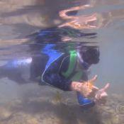 'Estrelas': Angélica leva Ricardo Tozzi para mergulhar com tubarões em Noronha