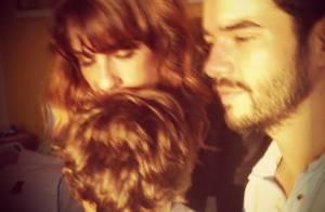 Caio Blat e Maria Ribeiro se declaram ao filho no aniversário de 5 anos: 'Amor'