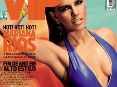 Mariana Rios, a Drika de 'Salve Jorge', posa de maiô superdecotado para revista