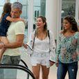 Otaviano Costa comentou sua relação com Giulia Costa, filha de Flávia Alessandra e Marcos Paulo: 'Eu era aquele cara legal, divertido, que andava na montanha russa, mas ao mesmo tempo era o cara que cobrava estudo e exigia horário'