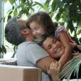 Otaviano Costa é pai de Olívia, de 4 anos, fruto do seu relacionamento com Flávia Alessandra