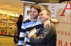Walcyr Carrasco lança seu primeiro romance e recebe o carinho dos artistas