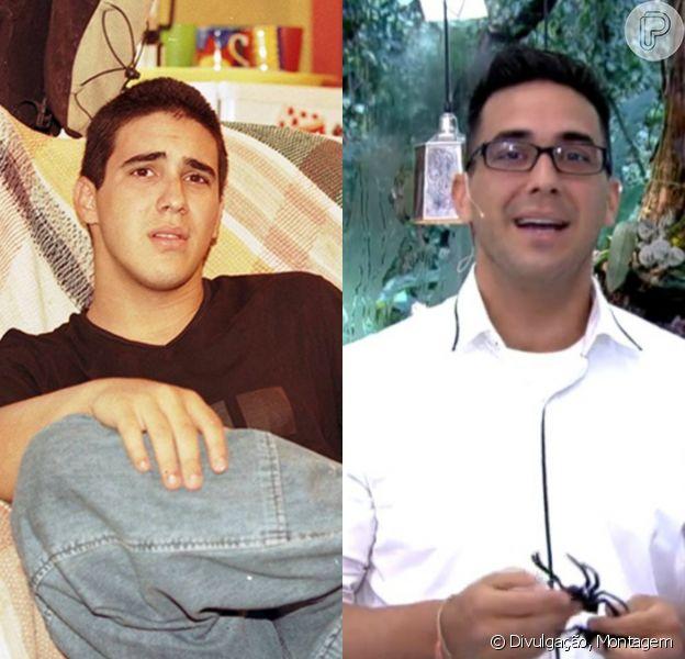André Marques foi o protagonista de 'Malhação.com', a quinta temporada da novela teen, em 1998. Após apresentar o 'Vídeo Show' por muitos anos, ele agora apresenta o 'Mais Você' nas férias de Ana Maria Braga. Há um ano, o intérprete de Mocotó fez uma cirurgia bariátrica