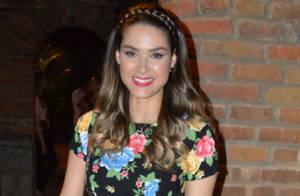 Grávida, Fernanda Machado revela nome de sua filha e diz que quer parto nos EUA