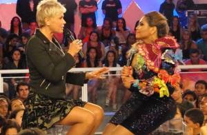 Xuxa ensina nova dieta à Gaby Amarantos: 'Estou de regime de tanto beijar'