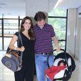 Ticiana Villas Boas deu à luz Joesley Filho na quarta-feira (21)