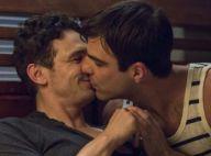 James Franco beija o ator Zachary Quinto em filme sobre ex-ativista gay