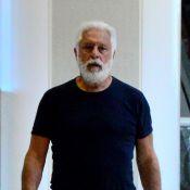 Antonio Fagundes aparece com visual novo, de barba, para a série 'Dois irmãos'