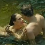 Paolla Oliveira fica nua ao tomar banho de cachoeira em 'Felizes Para Sempre?'
