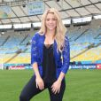 Shakira esteve no Brasil em 2014 para o encerramento da Copa do Mundo