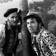 Stênio e Dary Reis em cena no folhetim 'Cavalo de Aço', em 1973