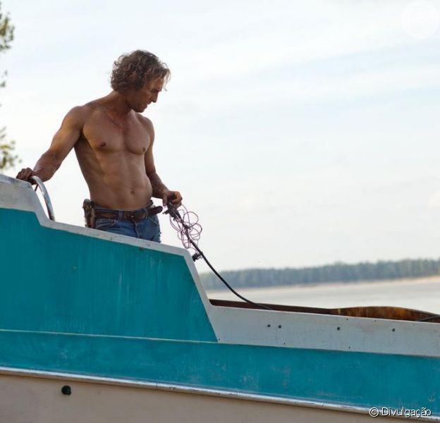 Matthew McConaughey contou que passou três dias em uma ilha deserta para compor personagem de 'Mud', informa o 'New York Post' em 24 de abril de 2013