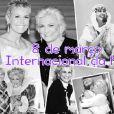 Xuxa também lembrou o Dia Internacional das Mulheres com uma homenagem a Hebe Camargo, que faria aniversário nesta data