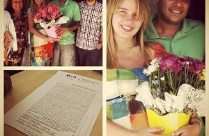 Grávida, Debby Lagranha se casa no civil: 'Realizei o sonho da minha avó'