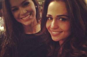 Bruna Marquezine e Nanda Costa curtem festa de confraternização de 'Salve Jorge'
