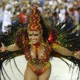 Além de celebrar 40 anos e sua estreia como atriz, Viviane Araújo também festejou 20 anos de Carnaval