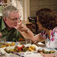 Marco Nanini e Marieta Severo são parceiros de cena em 'A Grande Família'